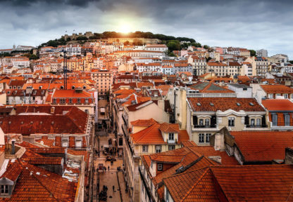 Lizbona Dachy